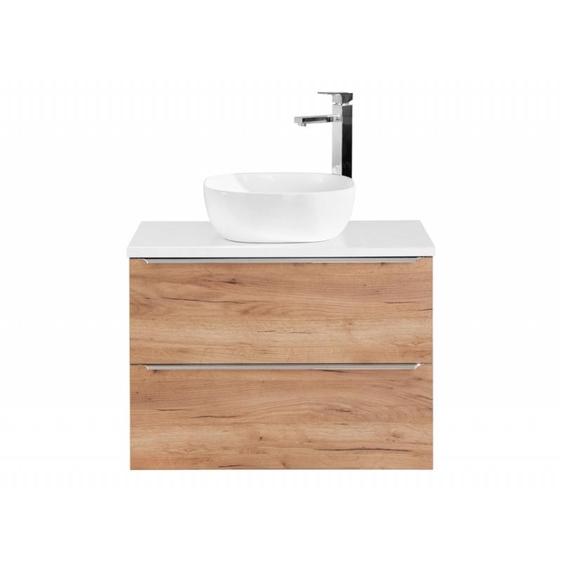 """šiuolaikinio stiliaus pakabinama vonios spintelė, su """"softclose"""" tylaus uždarymo sistema, šviesos spalvos"""