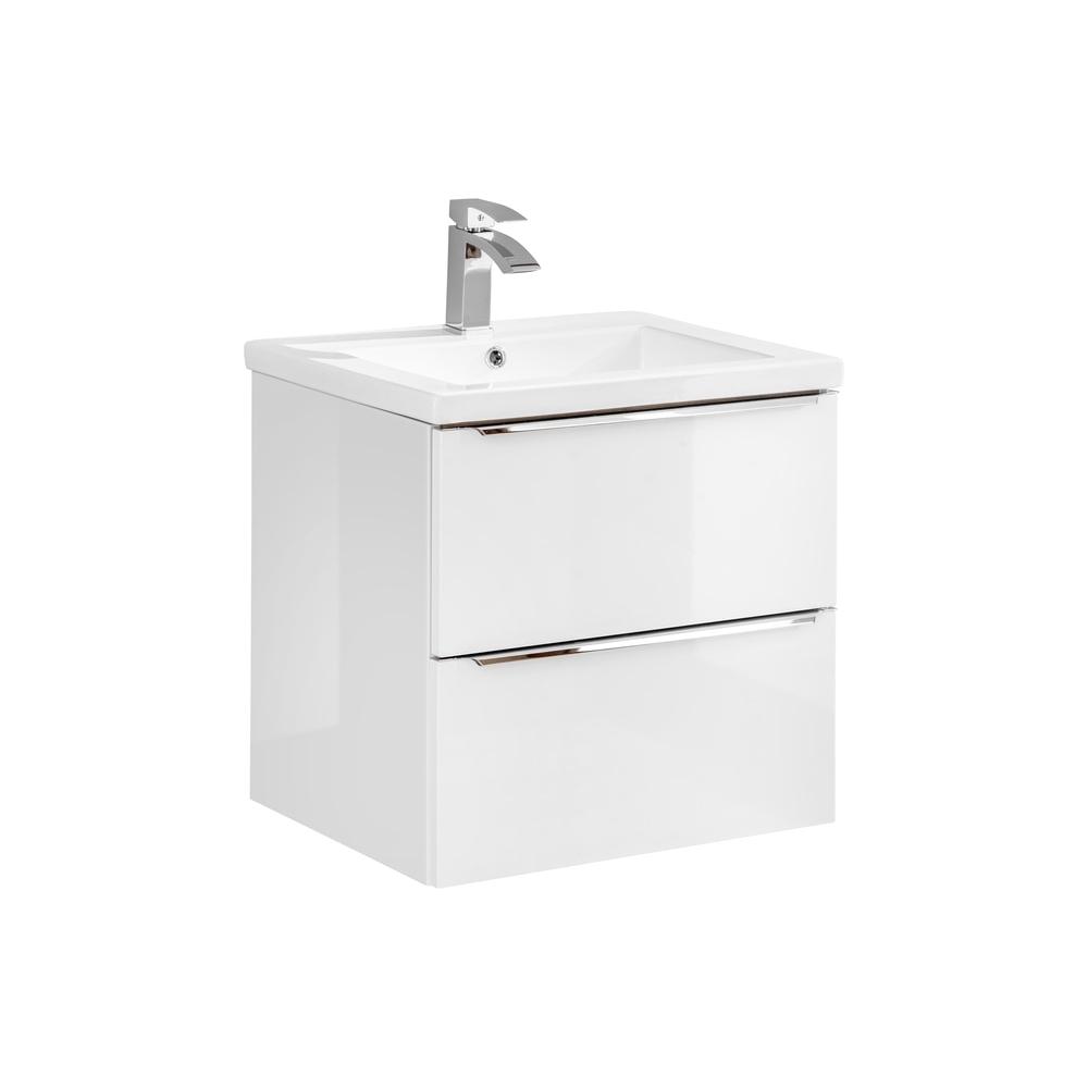 Vonios spintelė su praustuvu 820 CAPPRI WHITE
