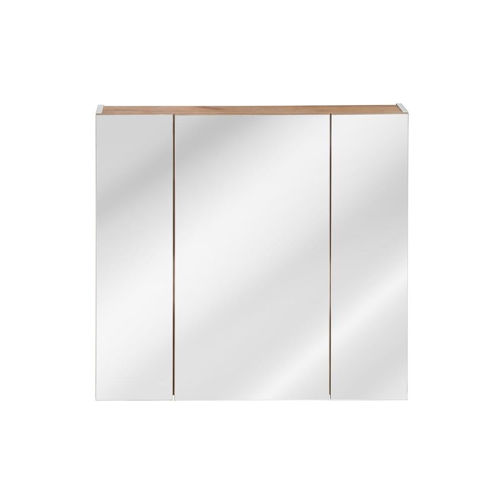 Pakabinamas veidrodis-spintelė 843 CAPPRI WHITE