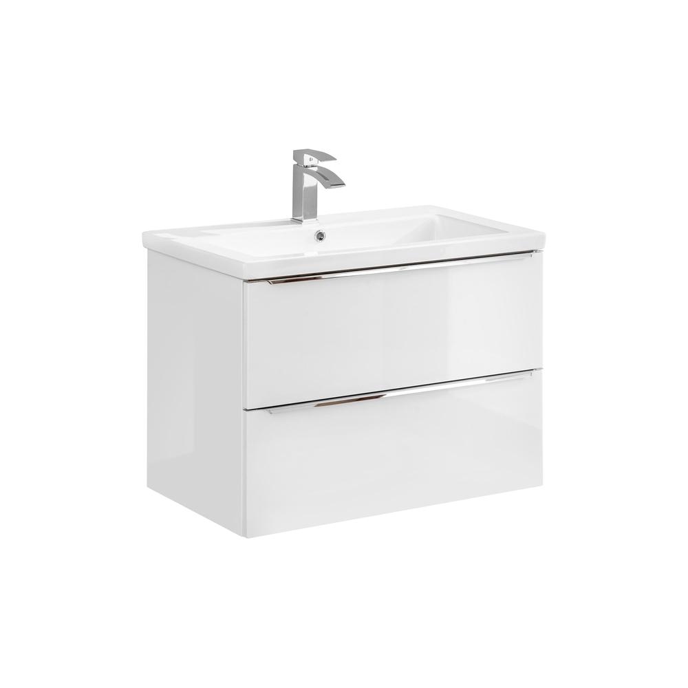 Vonios spintelė su praustuvu 821 CAPPRI WHITE