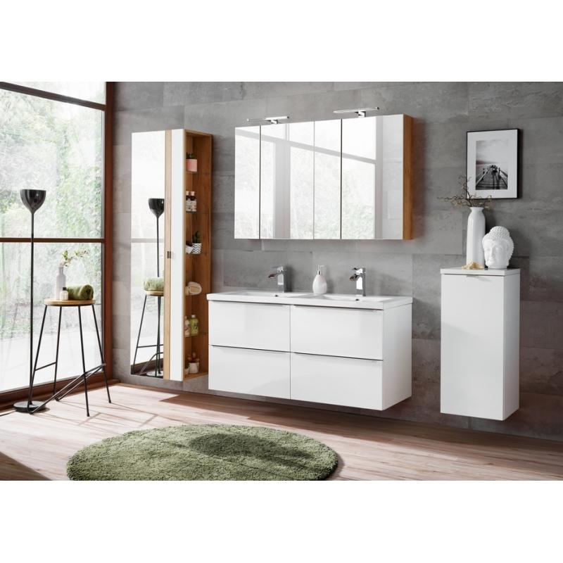 Pakabinama vonios spintelė 803 CAPPRI WHITE