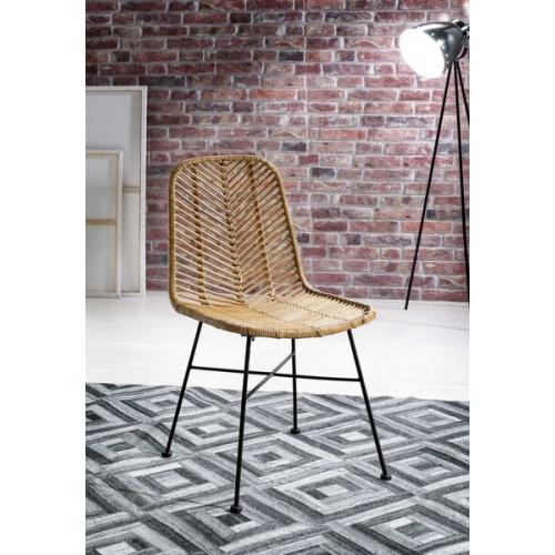 Pinta kėdė, medinė, rudos spalvos