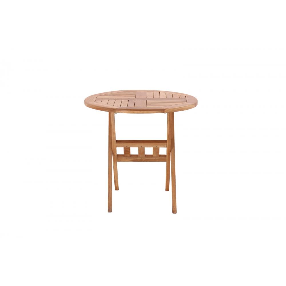 medinis apvalus stalas, rudas, medžio spalvos