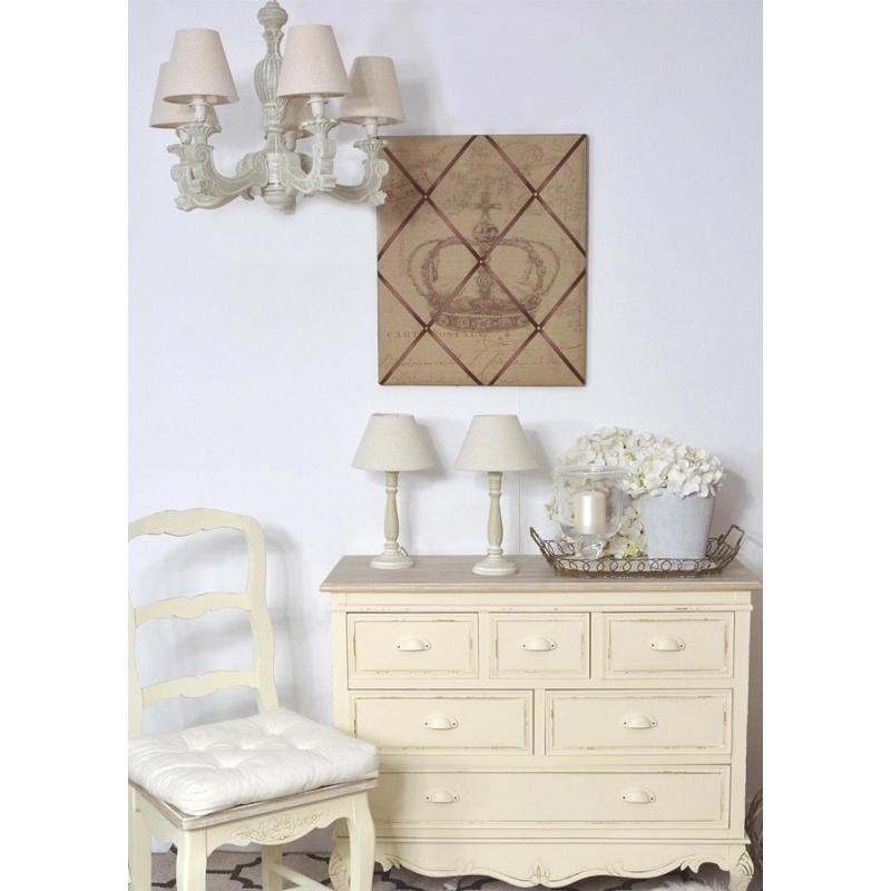 klasikinio stiliaus šviestuvas, baltas, dramblio kaulo spalvos