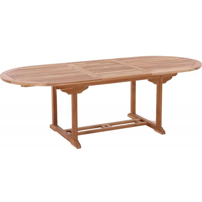 Lauko stalas 180/240 cm (išskleidžiamas)