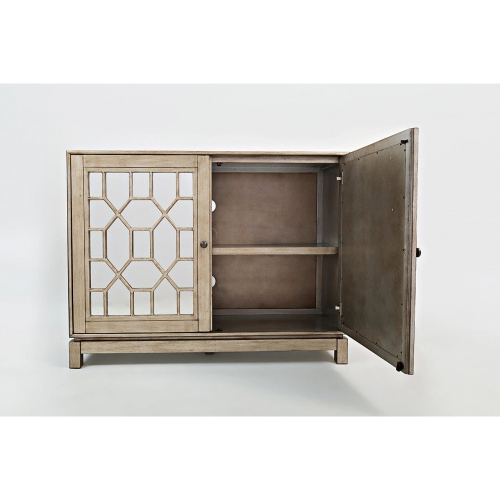 kokybiška spintelė, su veidrodinėmis ažūrinėmis durelėmis, senovinio stiliaus