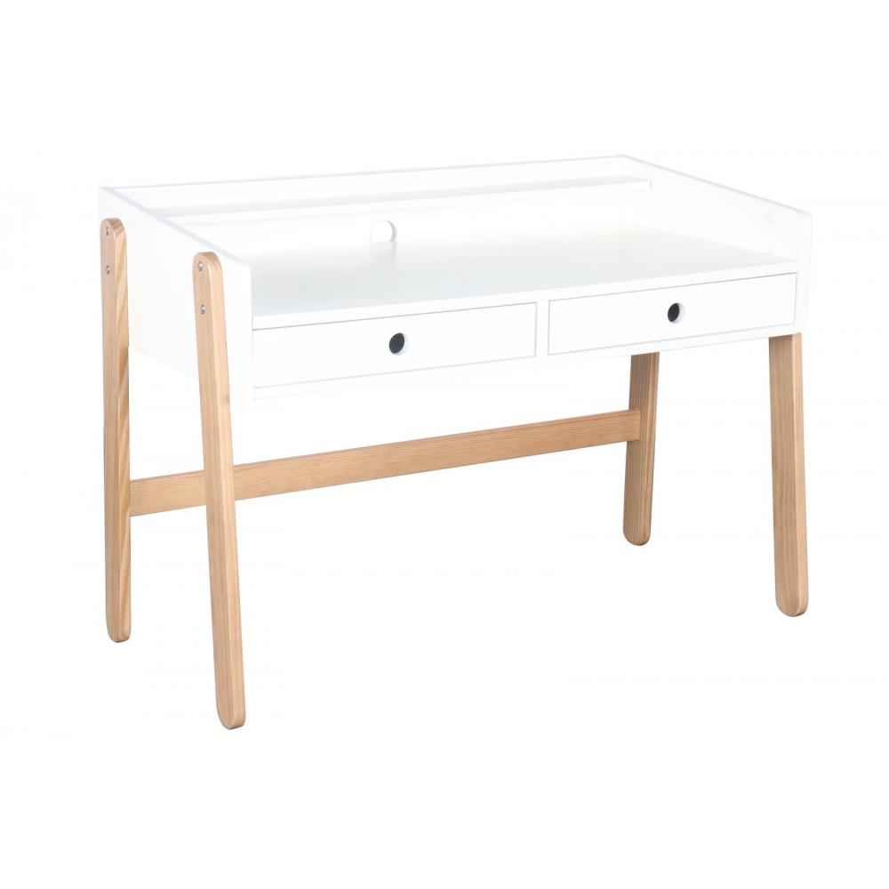 Modernaus dizaino rašomasis stalas, Natūralaus medžio, vaikams