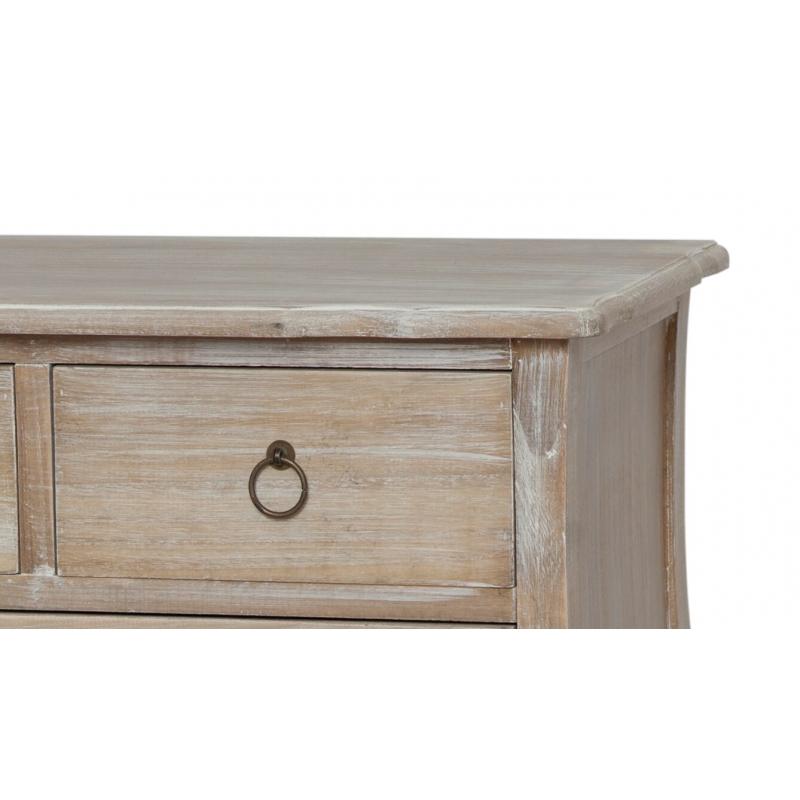 Spintelė 01DB MERANO - provanso stiliaus medinė sendinta spintele 88x40x85 cm