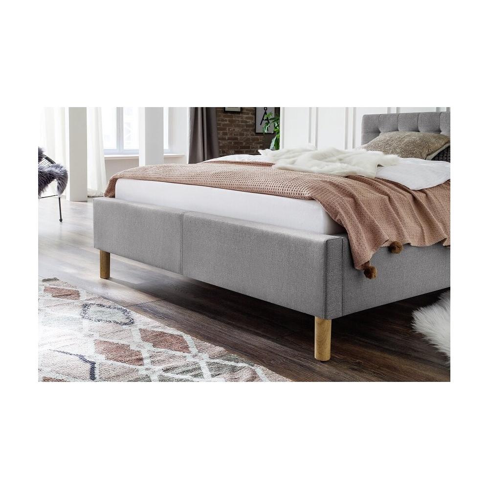skandinaviško dizaino lova, MALI stiliaus, pilkos spalvos