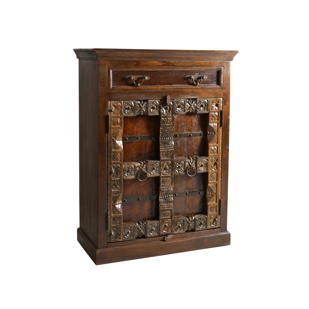 ALMIRAH stiliaus spintelė, kokybiška, medinė