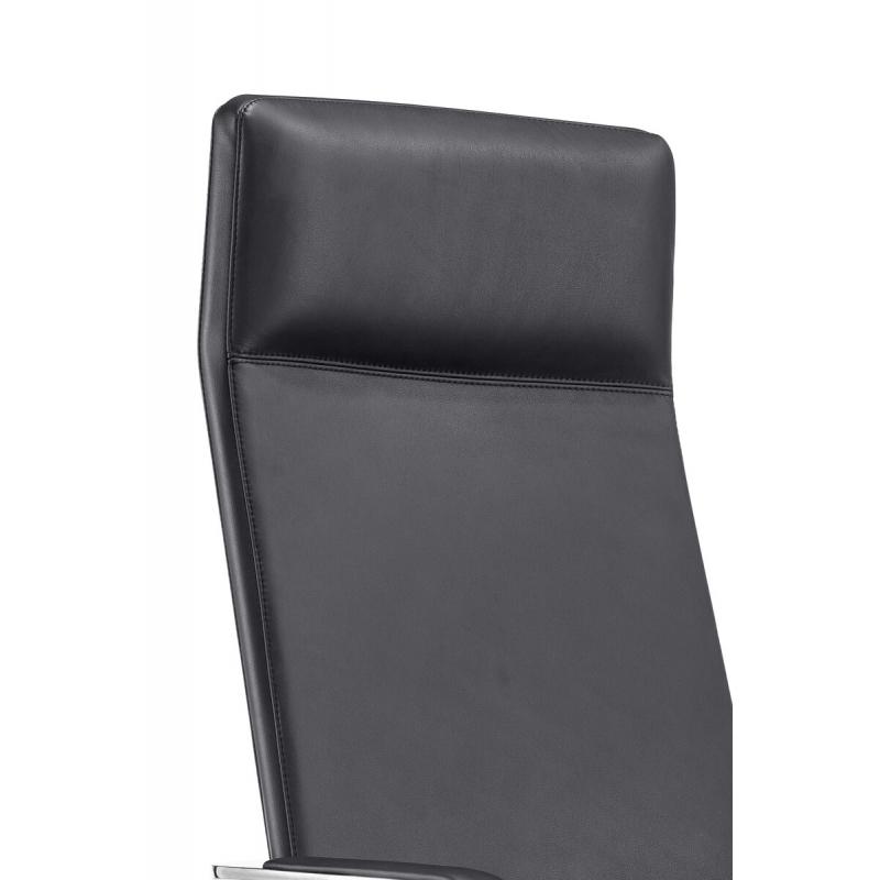 šiuolaikinio dizaino biuro kėdė, aliumininio rėmo, su ratukais