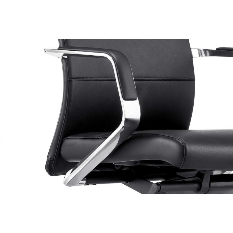 Minimalistinio stiliau ofiso kėdė, 4 atlošo pozicijomis, ergonomiška