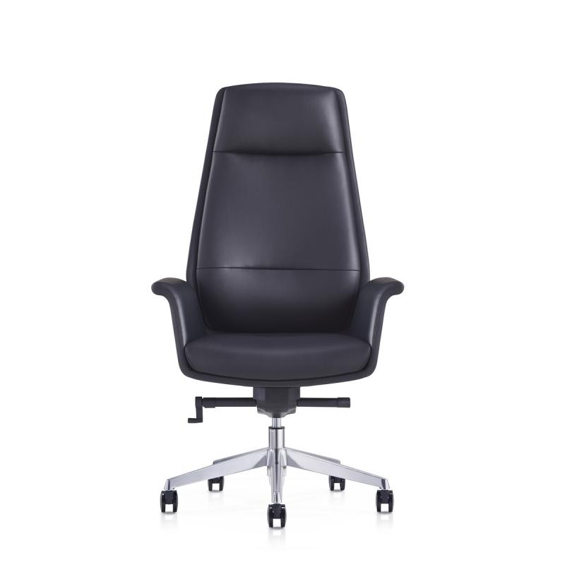 modernaus dizaino ofiso kėdė, ECO odos, su porankiais