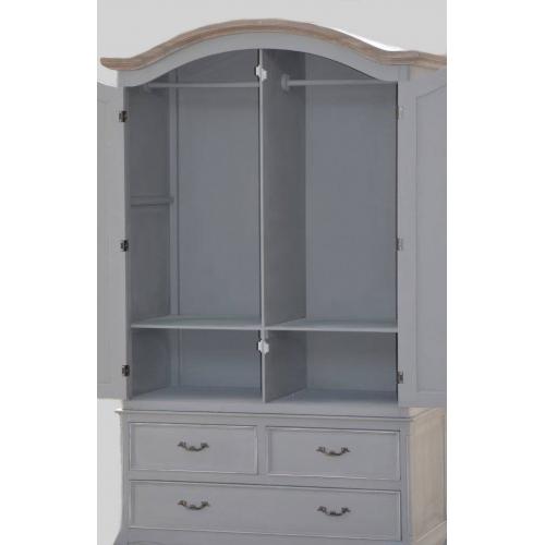 Klasikinio stiliaus spinta, dviejų durų, sendinto dizaino