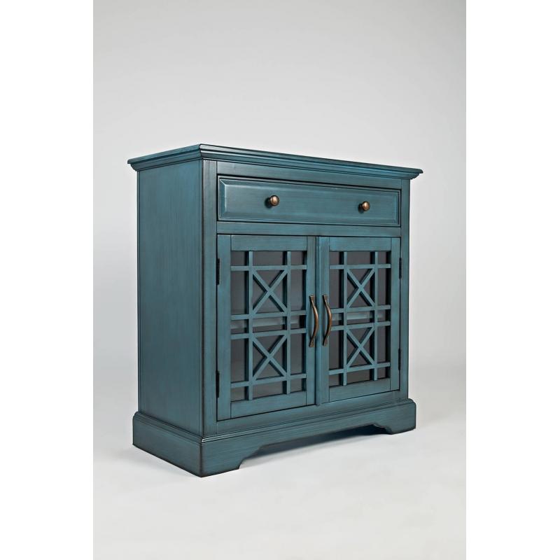 """AVELLINO Spintelė, modernaus dizaino, """"Hampton"""" stiliaus mėlynos"""