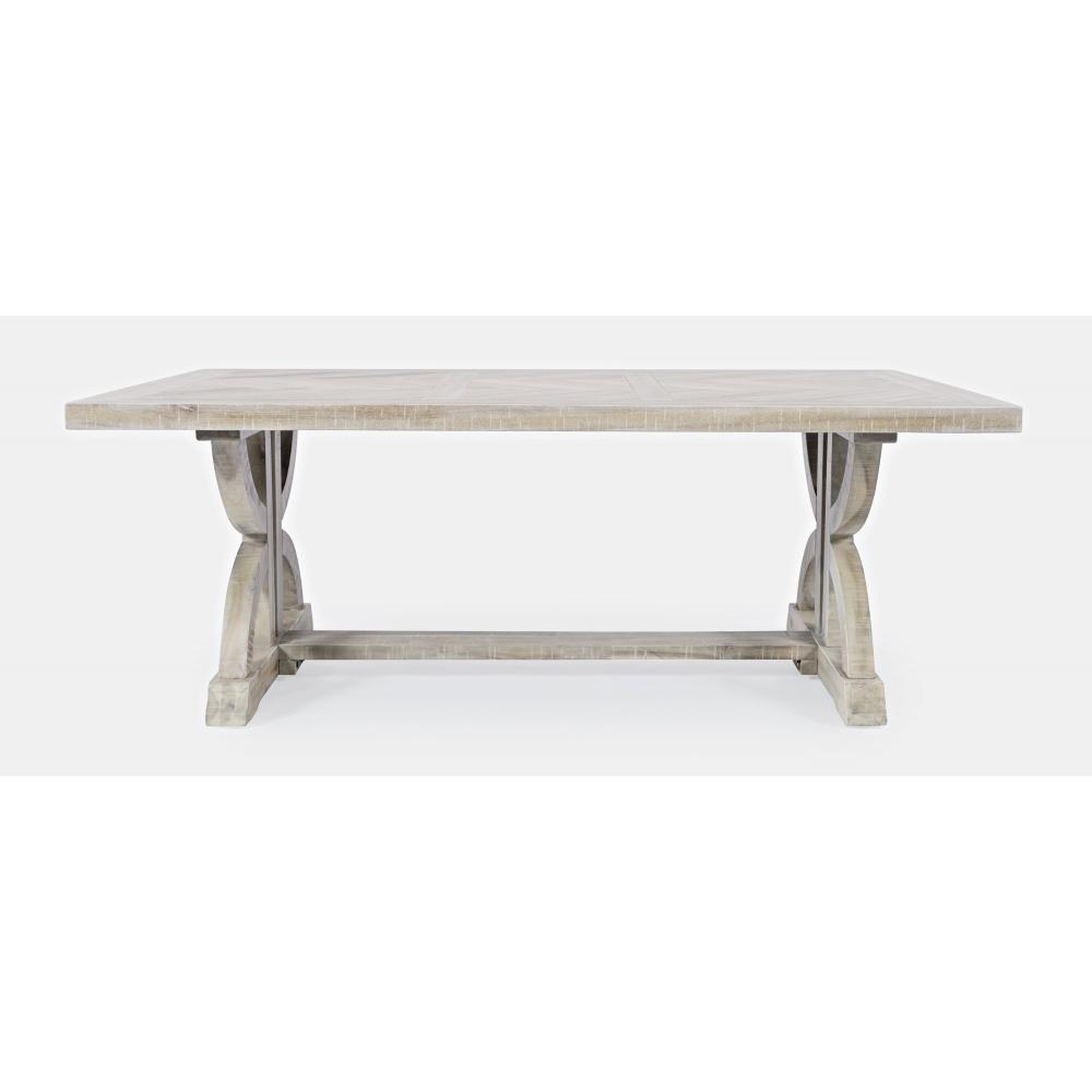 Stilingas žurnalinis staliukas, medinis, šviesus