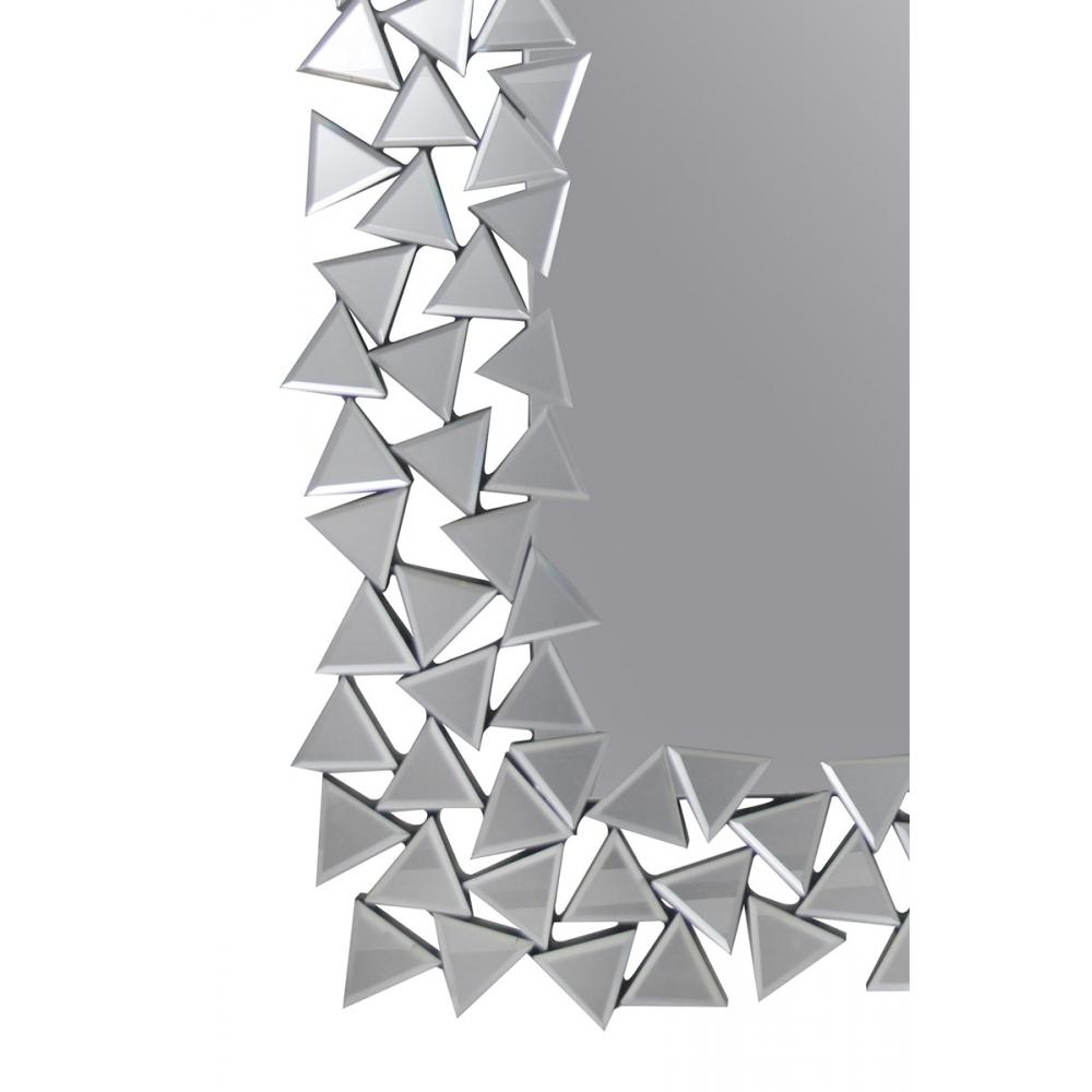 modernaus dizaino veidrodis, dekoruotomis briaunomis, elegantiškas