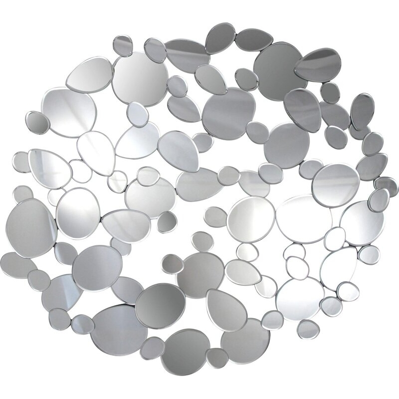 Didelis ovalus veidrodis, pakabinamas, išskirtinio dizaino