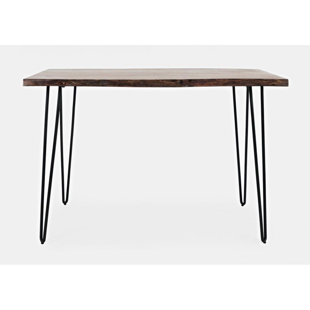 kokybiškas baro stalas, natūralaus medžio, aukštas