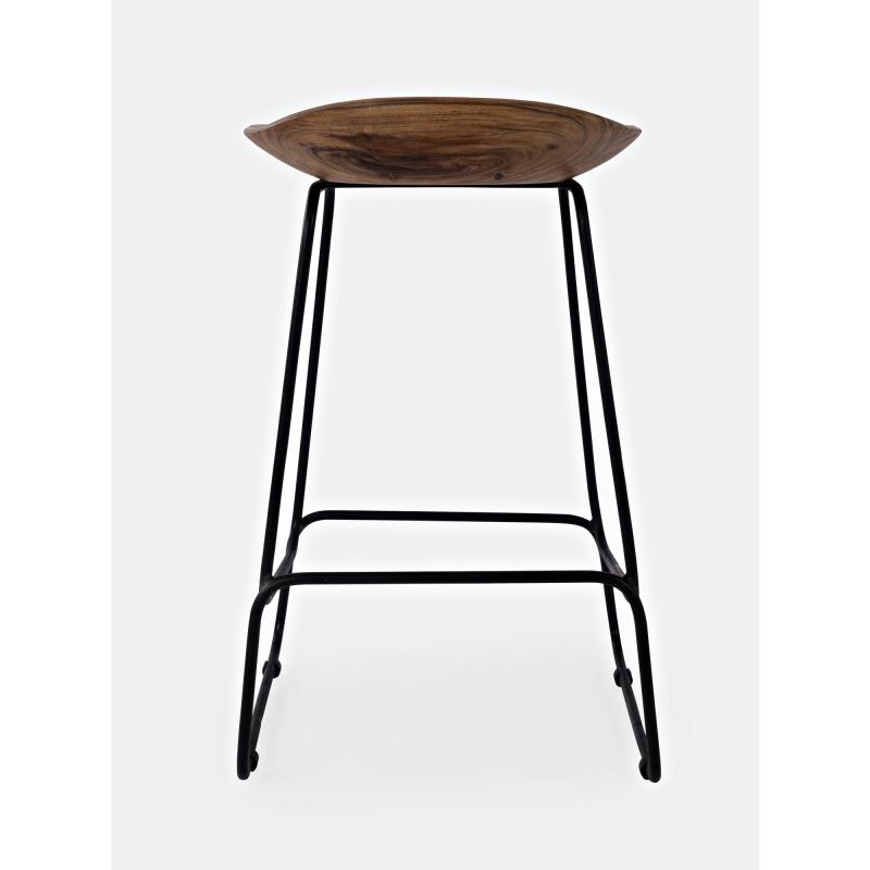 rudos spalvos baro kėdė, aukšta, modernaus stiliaus
