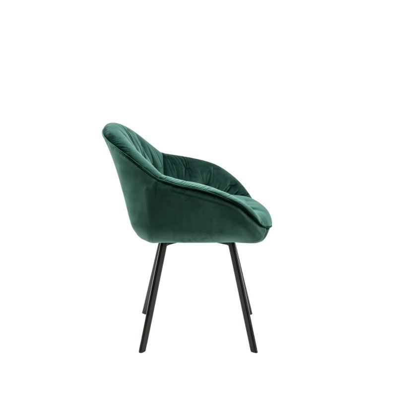 rožinė kėdė, pilka kėdė, žalia kėdė