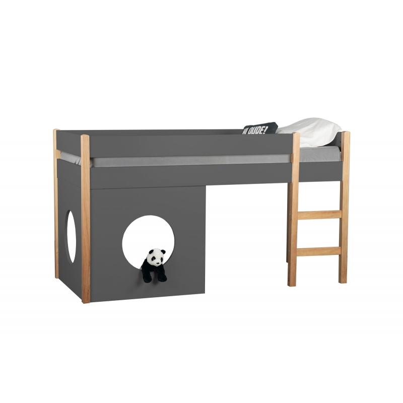 kokybiškos šoninės plokštės lovai, su skyle, minimalistinės