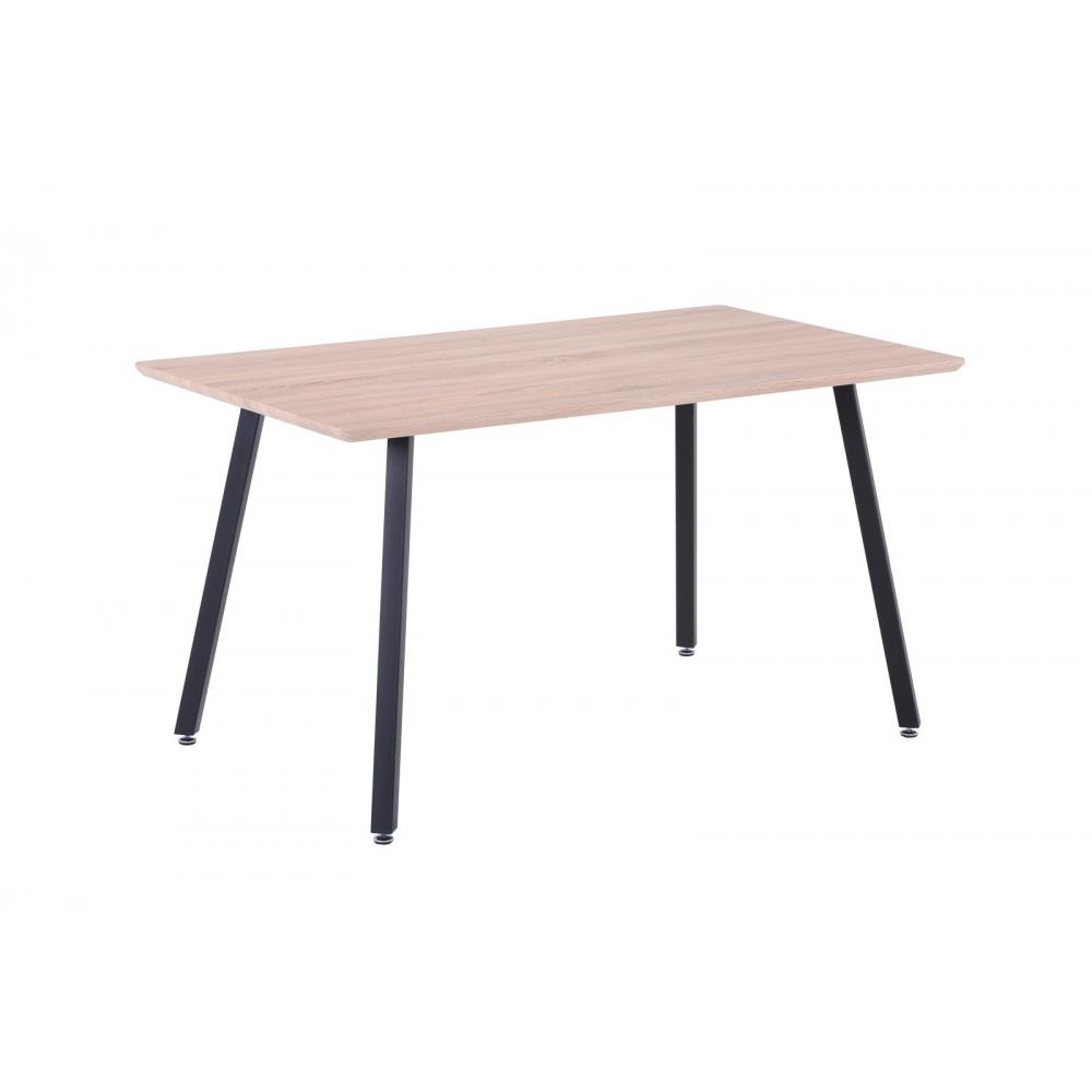 Modernaus dizaino stalas,140 cm, medinis