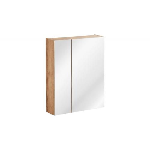 Pakabinamas veidrodis-spintelė 842 CAPPRI WHITE