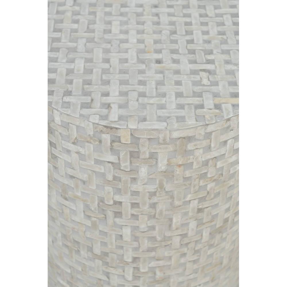baltas žurnalinis staliukas, patogus, kompaktiškas