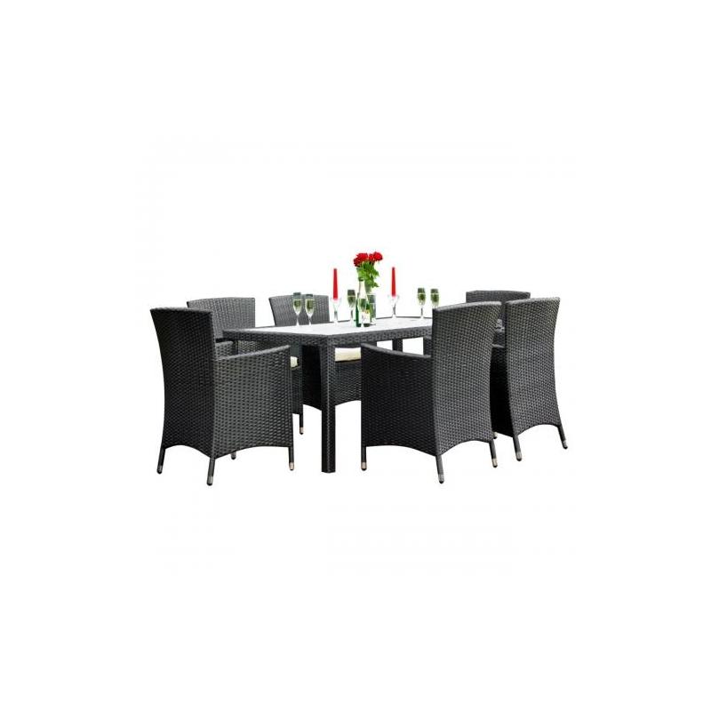 Lauko baldų komplektas CAPITAL BLACK