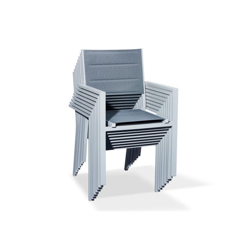 jaukus lauko baldų komplektas, su stalu, modernaus dizaino, talpina iki 8 žmonių