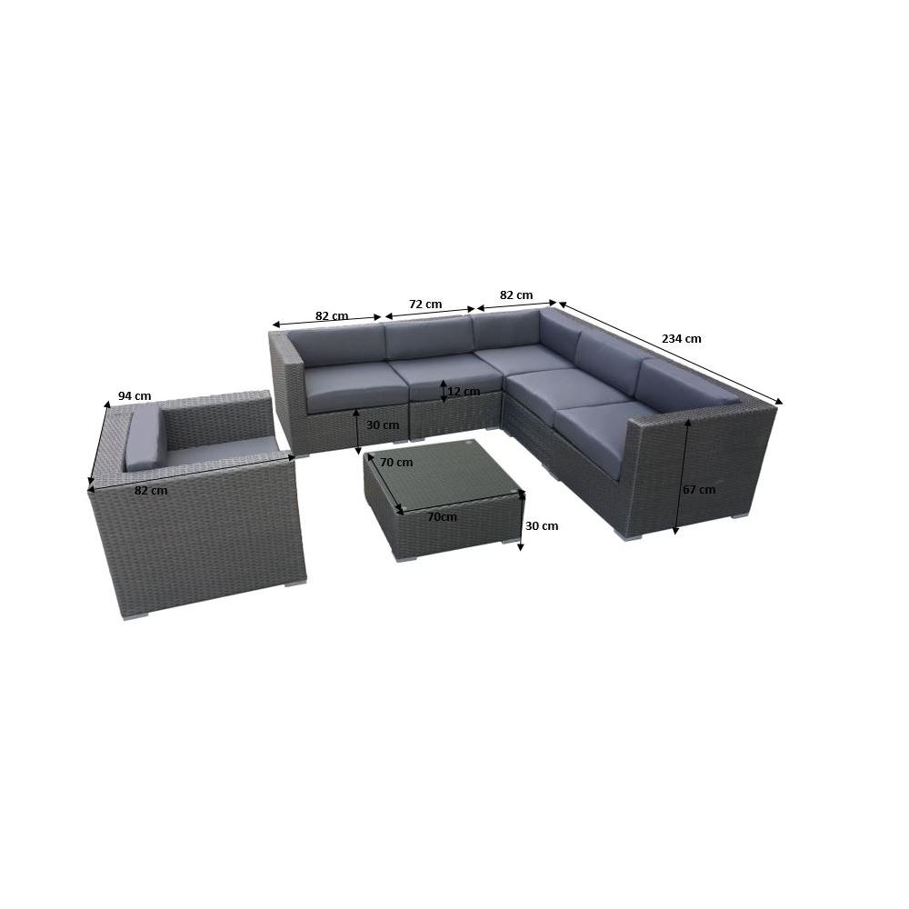 Lauko baldų komplektas ALT