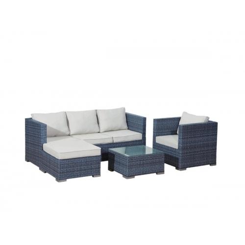 Lauko baldų komplektas AMARI GRAY