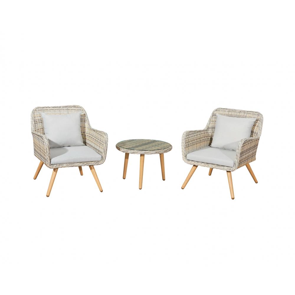Lauko baldų komplektas BELI stiliaus, Išskirtinio stiliaus, patogus