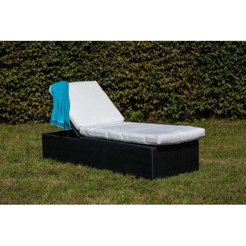 Modernaus dizaino lauko lova, komfortiška, pinta