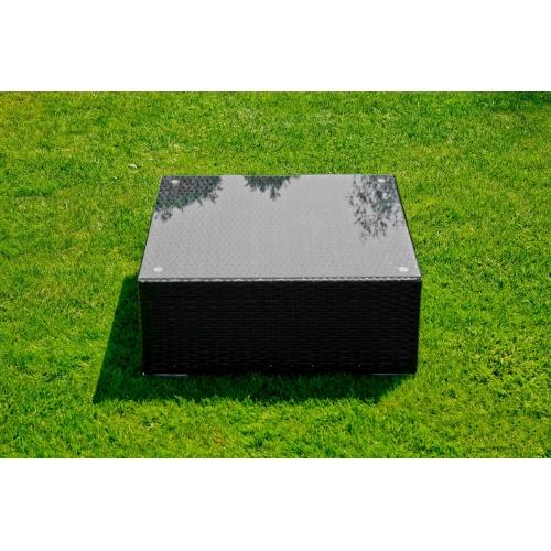 Lauko staliukas 001 NERO - 70x70 cm