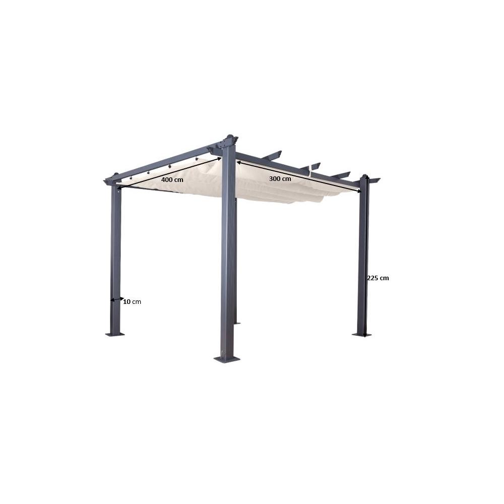 Paviljonas C007 - 400x300 cm.