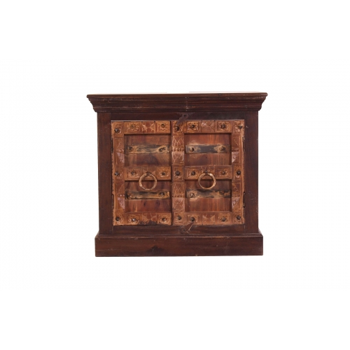 Narūralaus medžio vonios spintelė, pritaikyta praustuvui, ALMIRAH stiliaus
