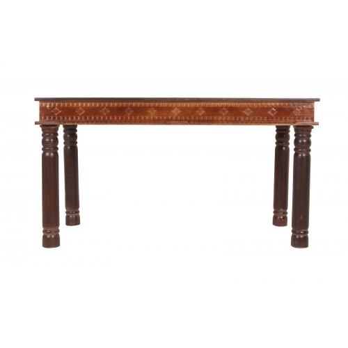 medinis stalas, senovinio stiliaus, antikvarinio stiliaus
