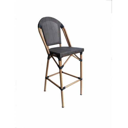 Aukšta baro kėdė, modernaus dizaino, tinka vidaus ir lauko naudojimui