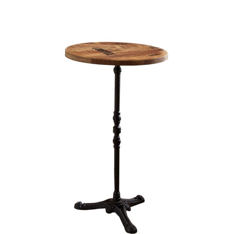 Aukštas apvalus stalas 711 - 60 cm
