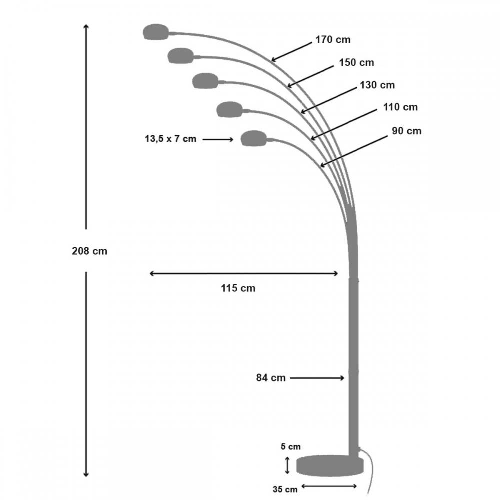 Toršeras 11 220 cm