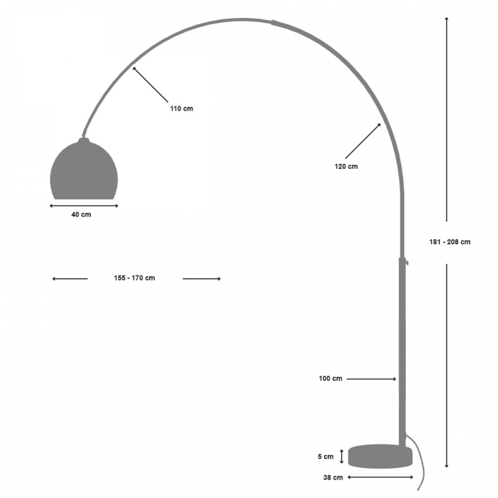 Toršeras 19 208 cm