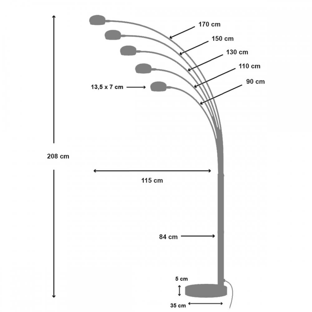 Toršeras 12 220 cm