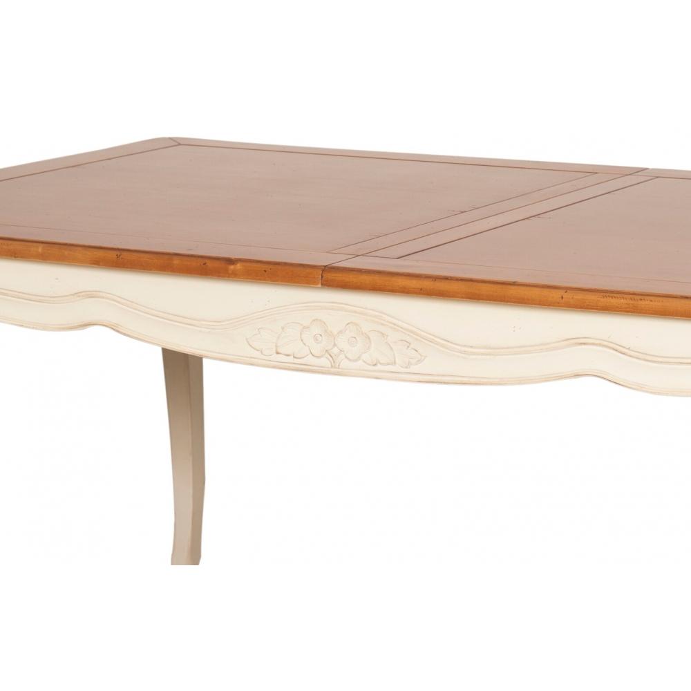 klasikinio dizaino išskleidžiamas stalas, medinis, senovinio stiliaus