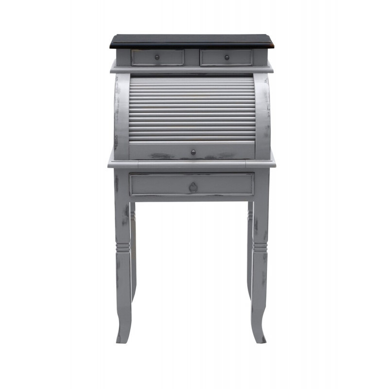 kosmetinis staliukas su stalčiais, antikvarinio dizaino, sendinto stiliaus