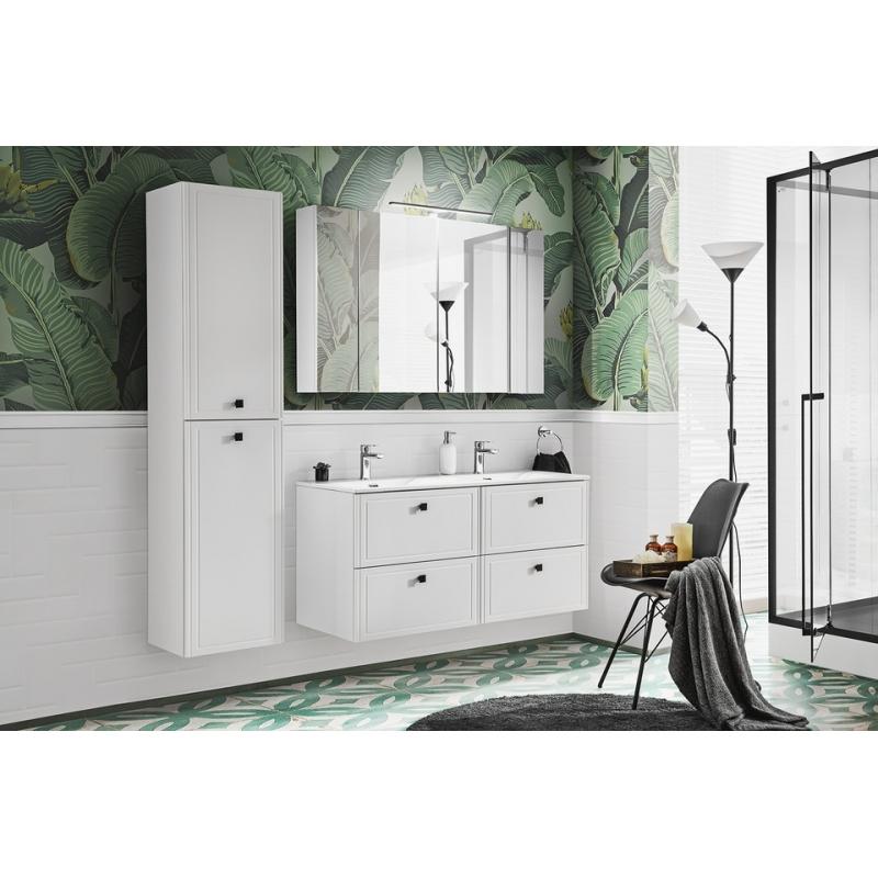 Vonios spintelė su praustuvu 826D HAVA WHITE