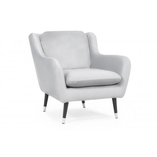 Fotelis AFO, šviesiai pilkas, 86x92x87 cm