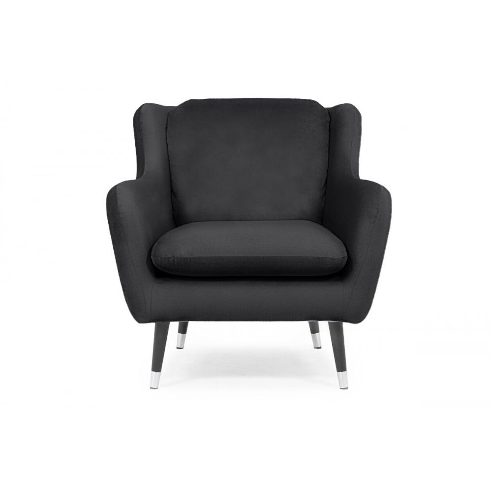 Fotelis AFO, tamsiai pilkas, 86x92x87 cm