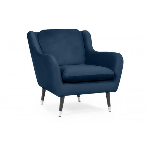 Fotelis AFO, mėlynas, 86x92x87 cm